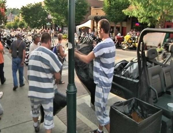 Bike, Blues & BBQ - Work Release Detainees_-577294127141204874