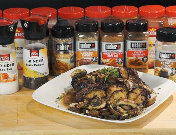 Cooking Today_ Ribeye Steak with New Potatoes & Baby Port Cap Mushrooms_8095964350472210745