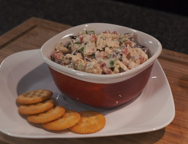 Cooking Today_ Basil Parmesan Chicken Salad with Mayo Dressing 1_-4516691969360376494
