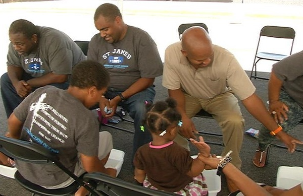 Hundreds Welcomed Back to School with Shoes & School Supplies