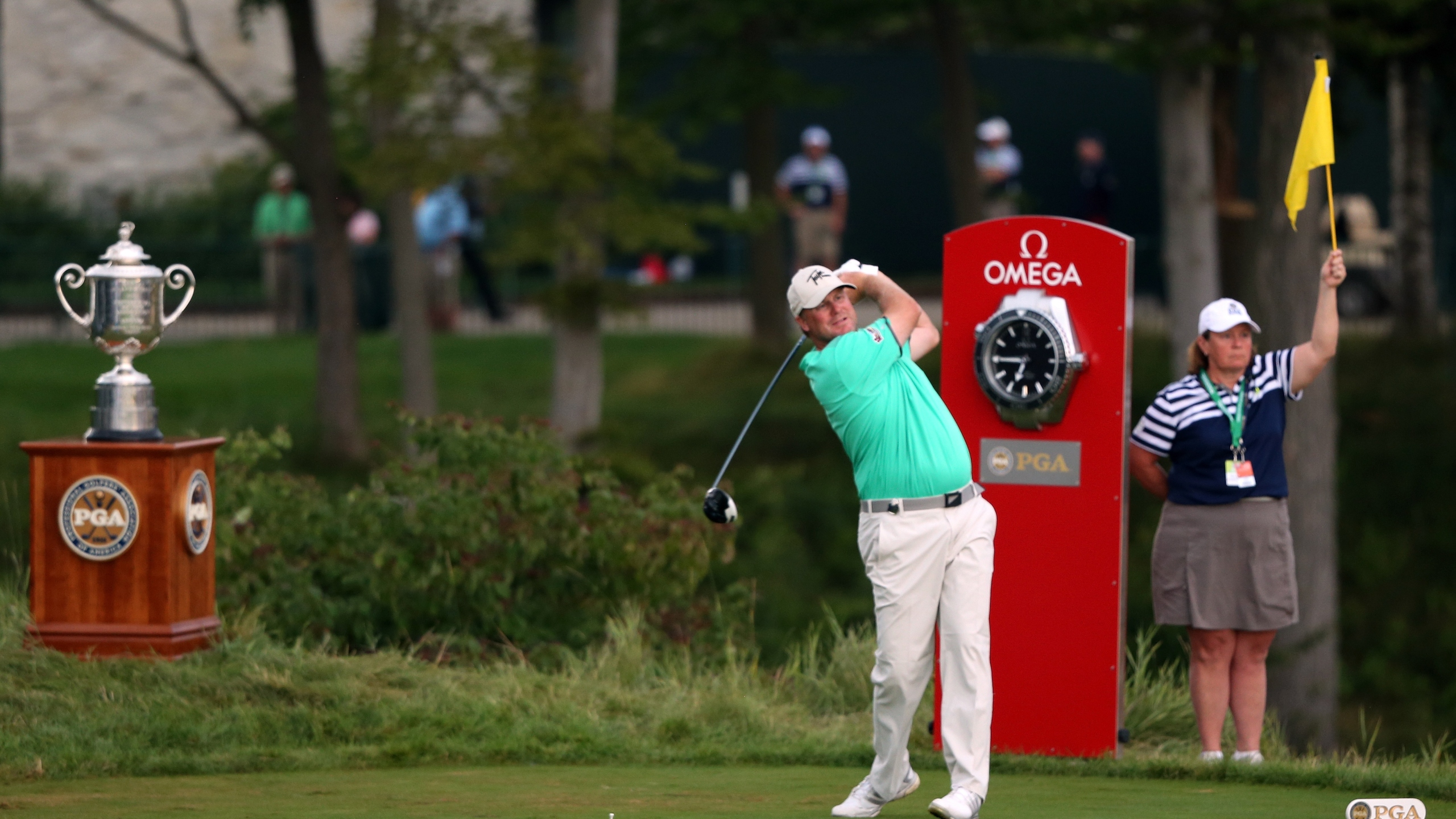 Ryan Helminen Tees Off at Whistling Straits