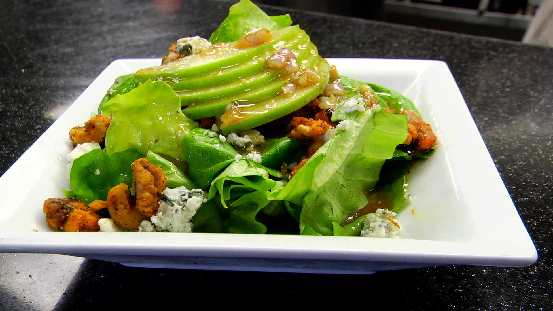 Bib Lettuce Salad from Fosters Pint and Plate in Rogers.jpg
