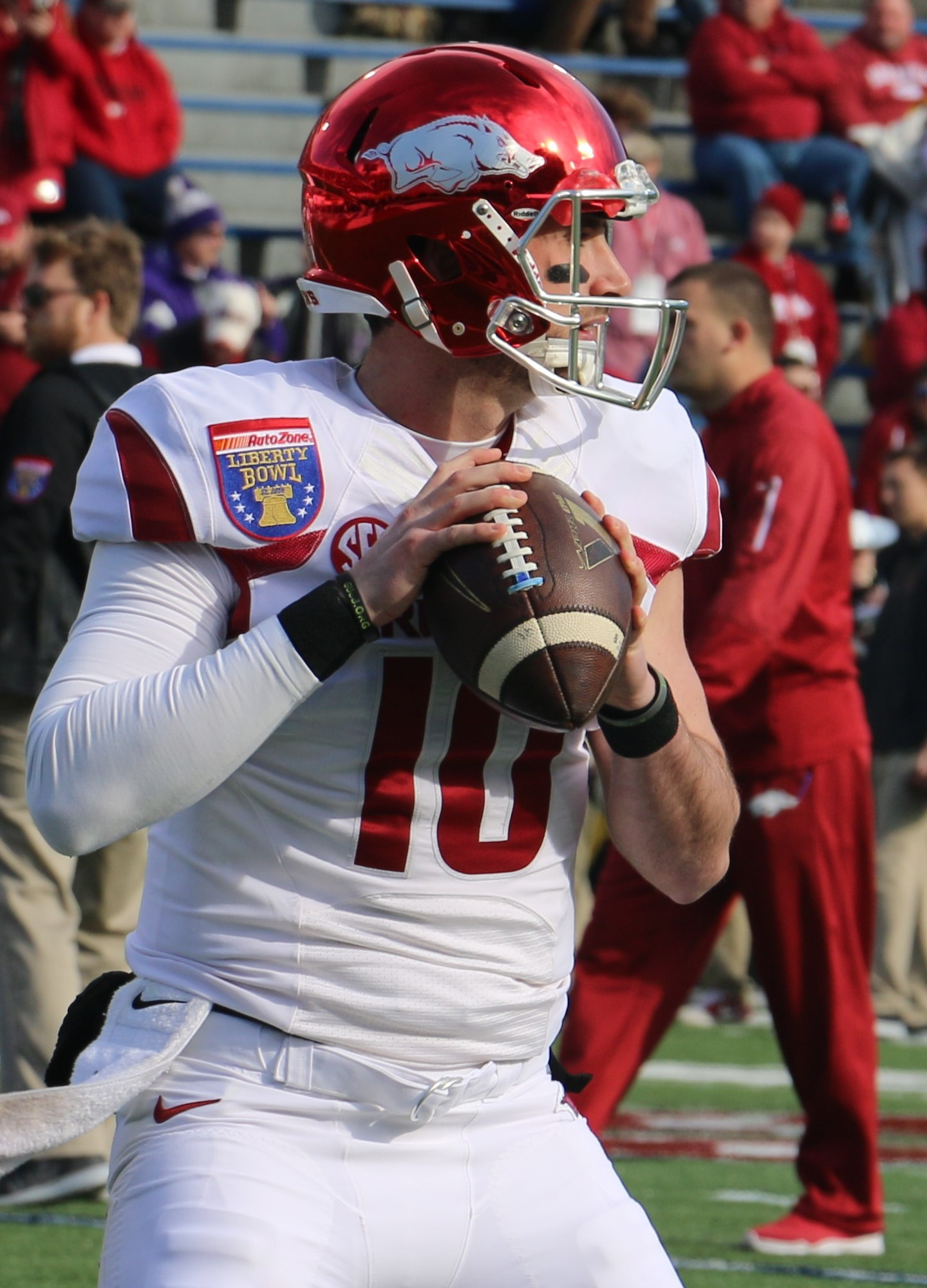 Brandon Allen In 2016 Liberty BowlJPG