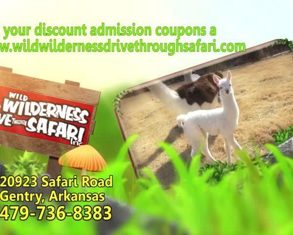 Wild Wilderness Drive Thru Safari in Gentry offers Spring Br_25161074-159532