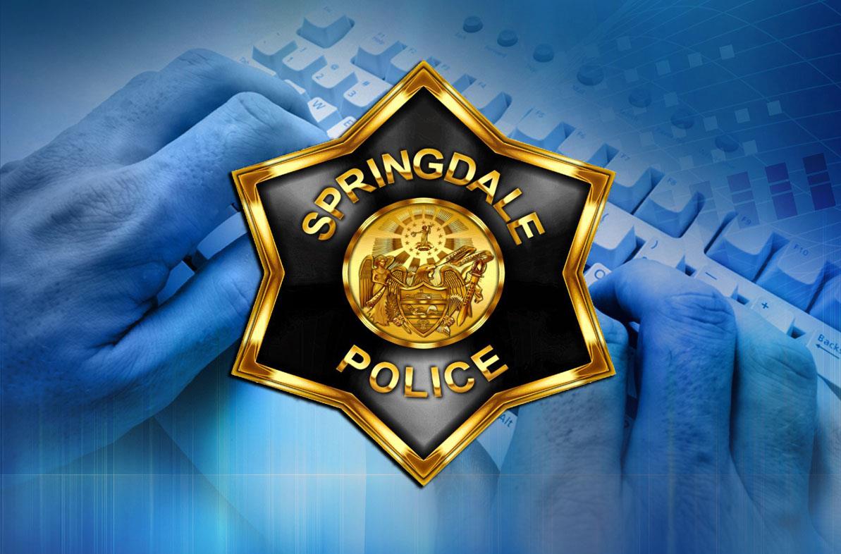springdale police hacked