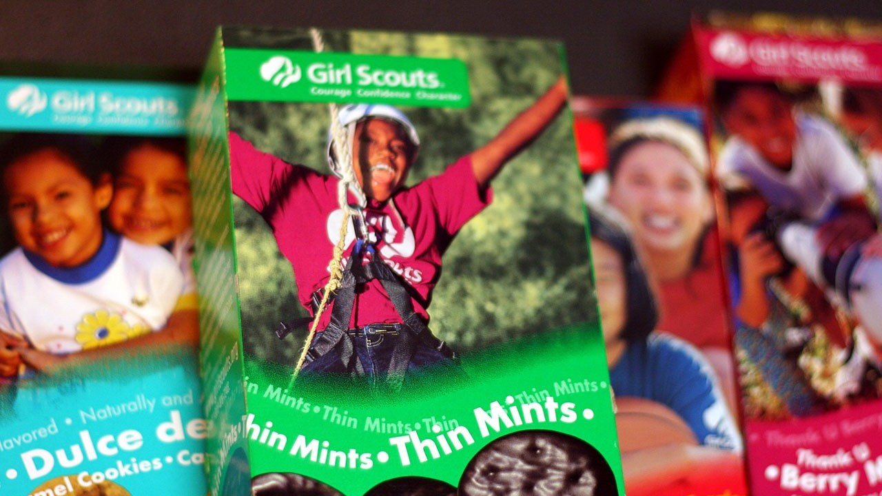 Girl Scout cookie booths start today