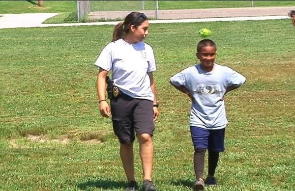 Springdale Police Department's 'Sandlot' Program