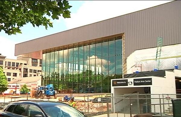 Walton Arts Center Renovation Nearing Completion