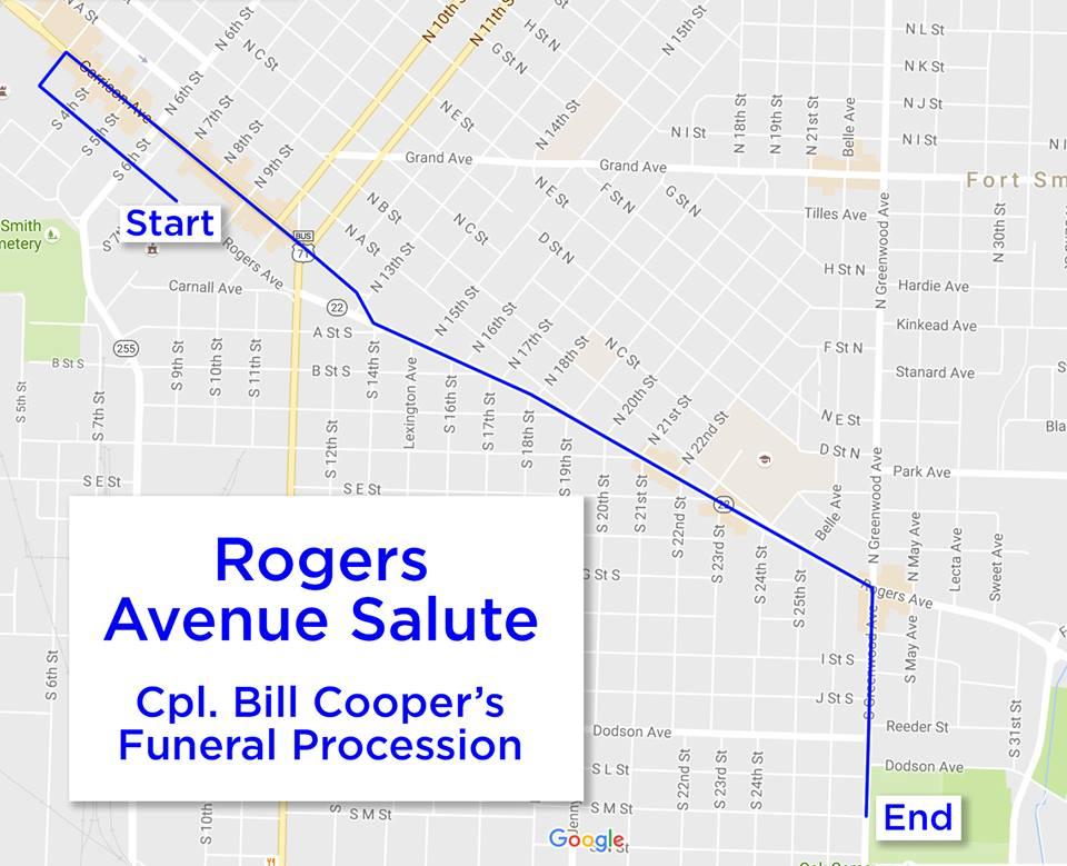 Rogers Salute