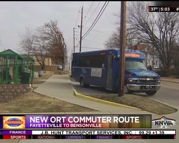 NWA Commuters Soon to Have New Option