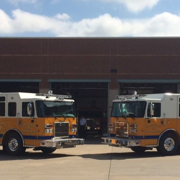 Springdale fire trucks engines