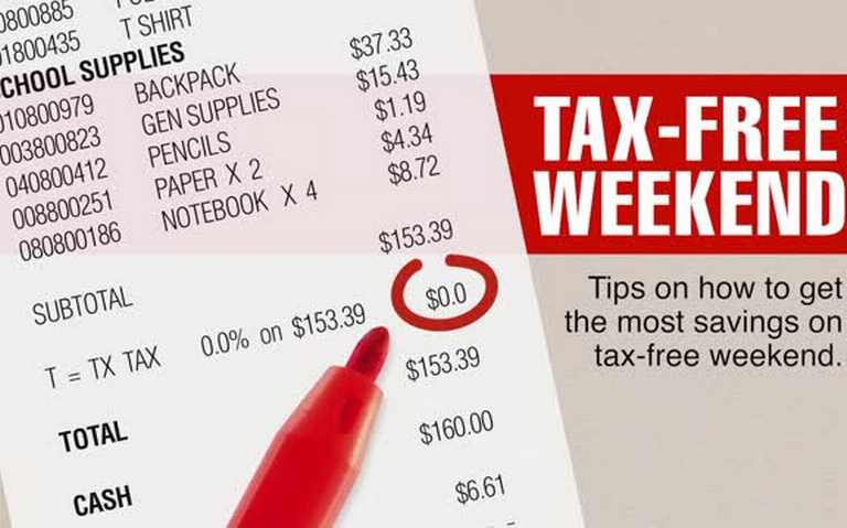 Cashing in on the Tax-Free Holiday