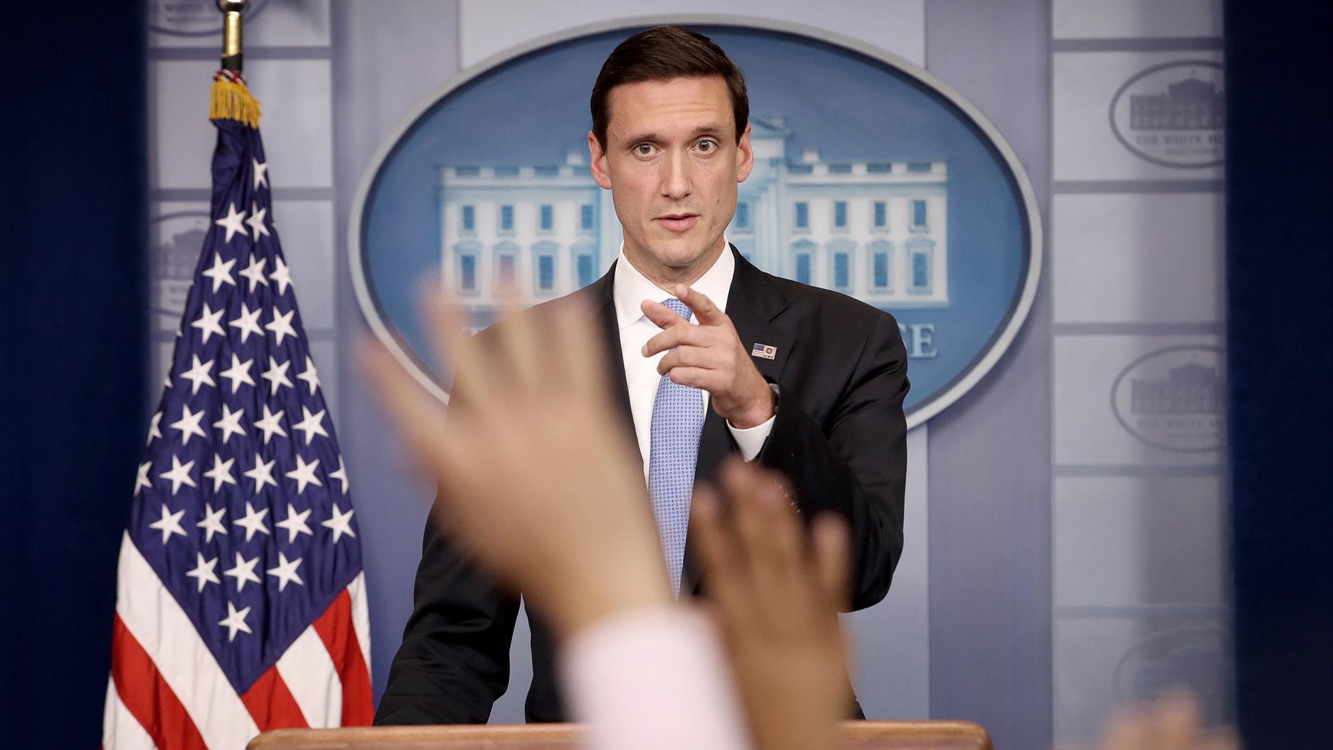 Tom Bossert, White House Homeland Security Advisor, briefing, Irma47206032-159532