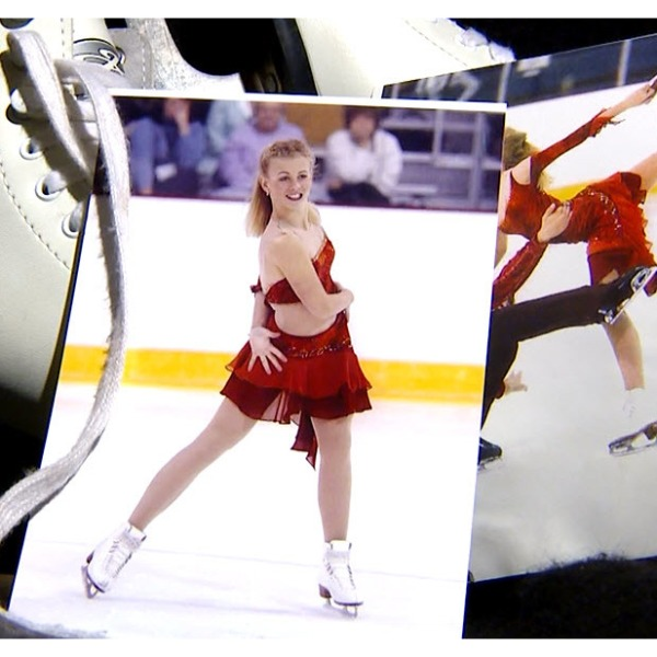 Road to the Olympics: Skater competes in dresses by mom