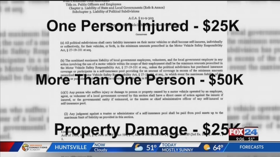 Car Accident Leaves Woman with $80,000 in Bills, City Insurance Not Enough (Fox 24)