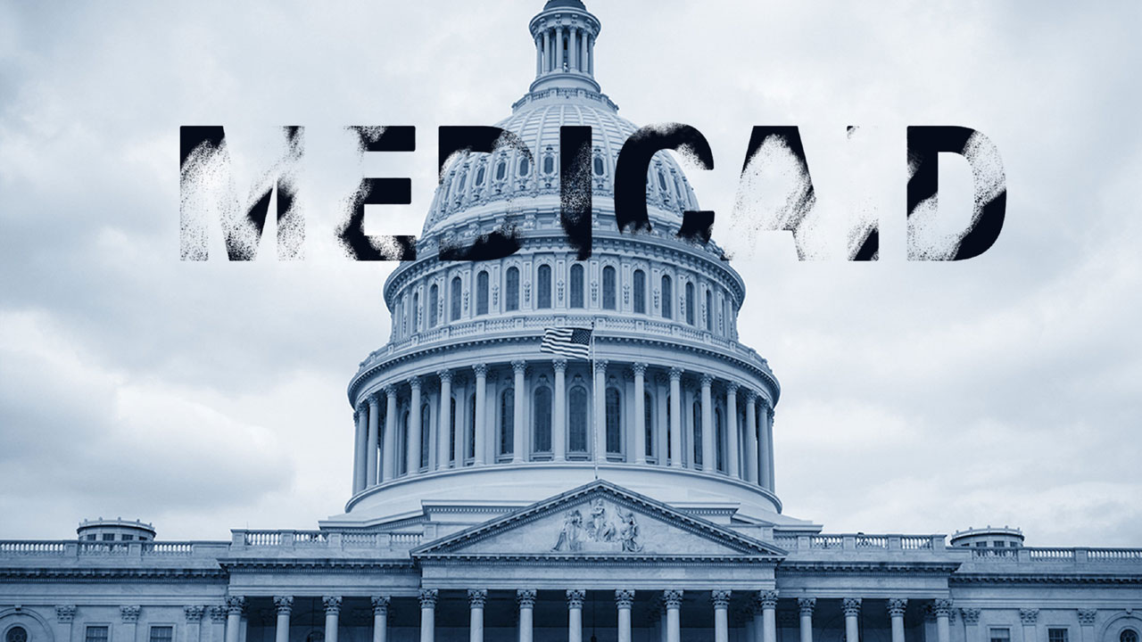 Medicaid over US Capitol building72651850-159532