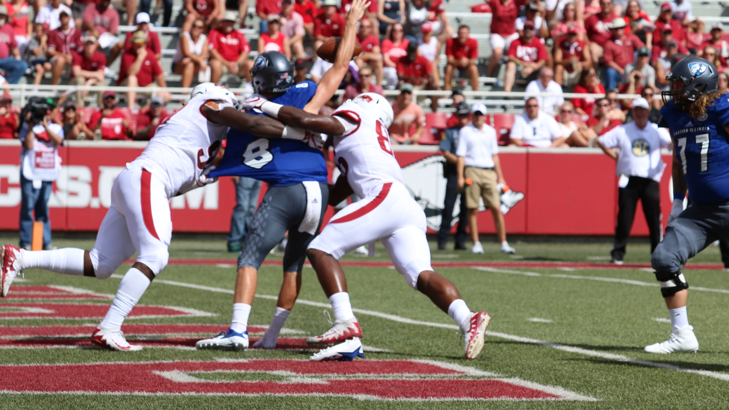 Eastern Illinois strip sack for fumble TV.JPG