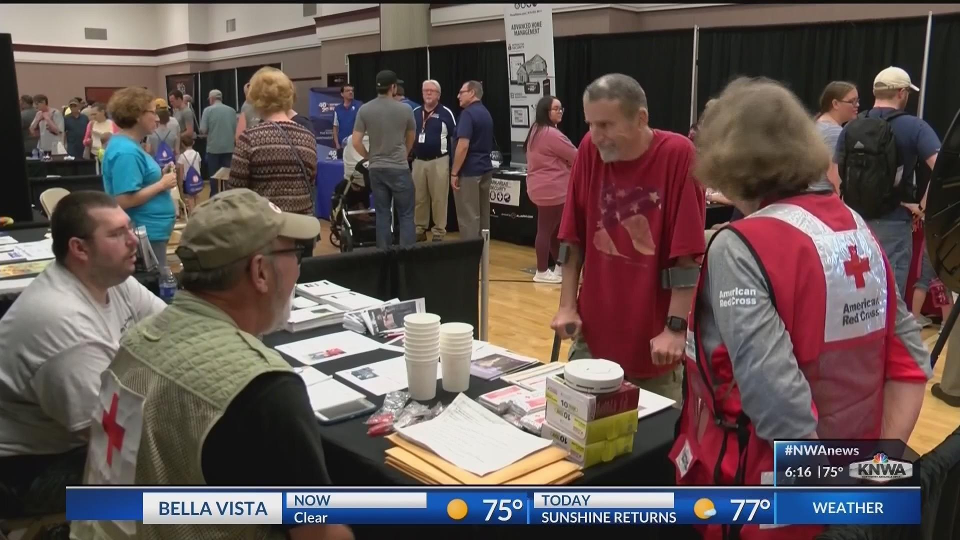 NWA Emergency Preparedness Fair Held in Bentonville (KNWA)