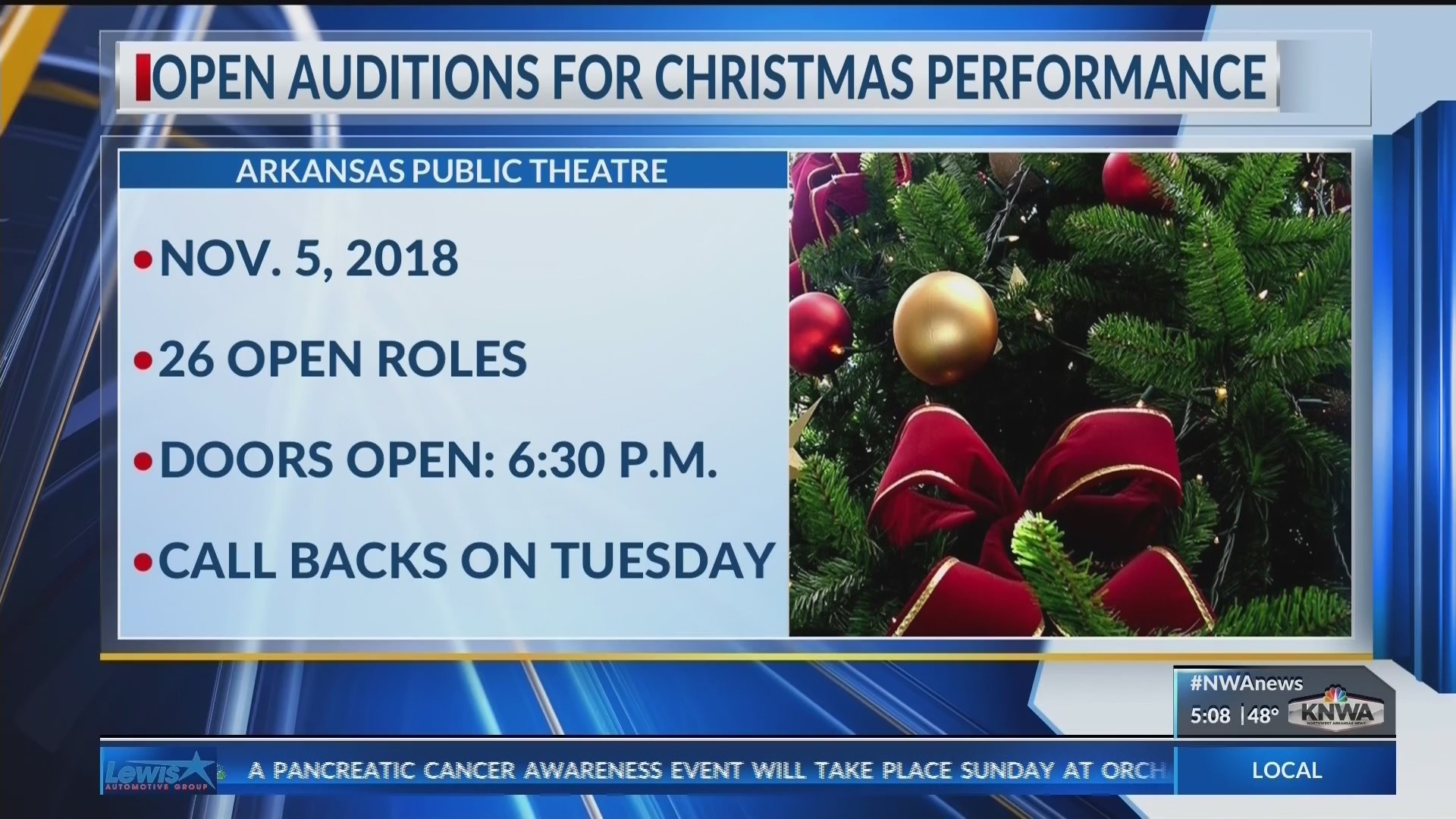 Auditions Open for The Best Christmas Pageant Ever