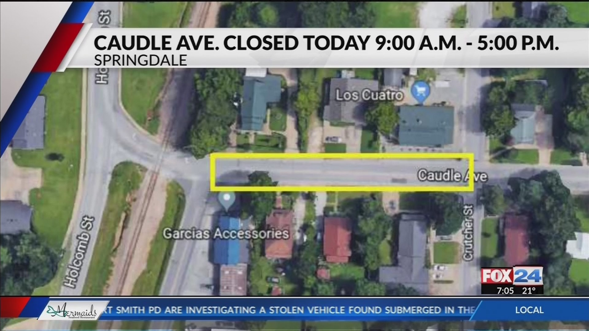 Caudle_Avenue_in_Springdale_Closed_Today_0_20181120132319