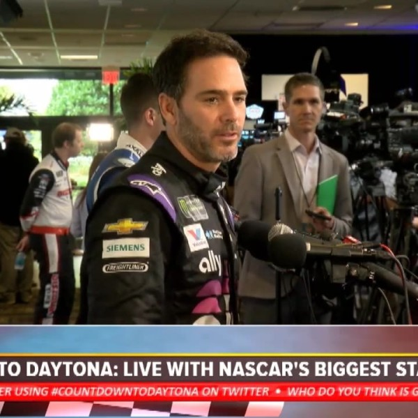 Daytona 500 Media Day: Interviews with Johnson, Truex Jr, Harvick, and more