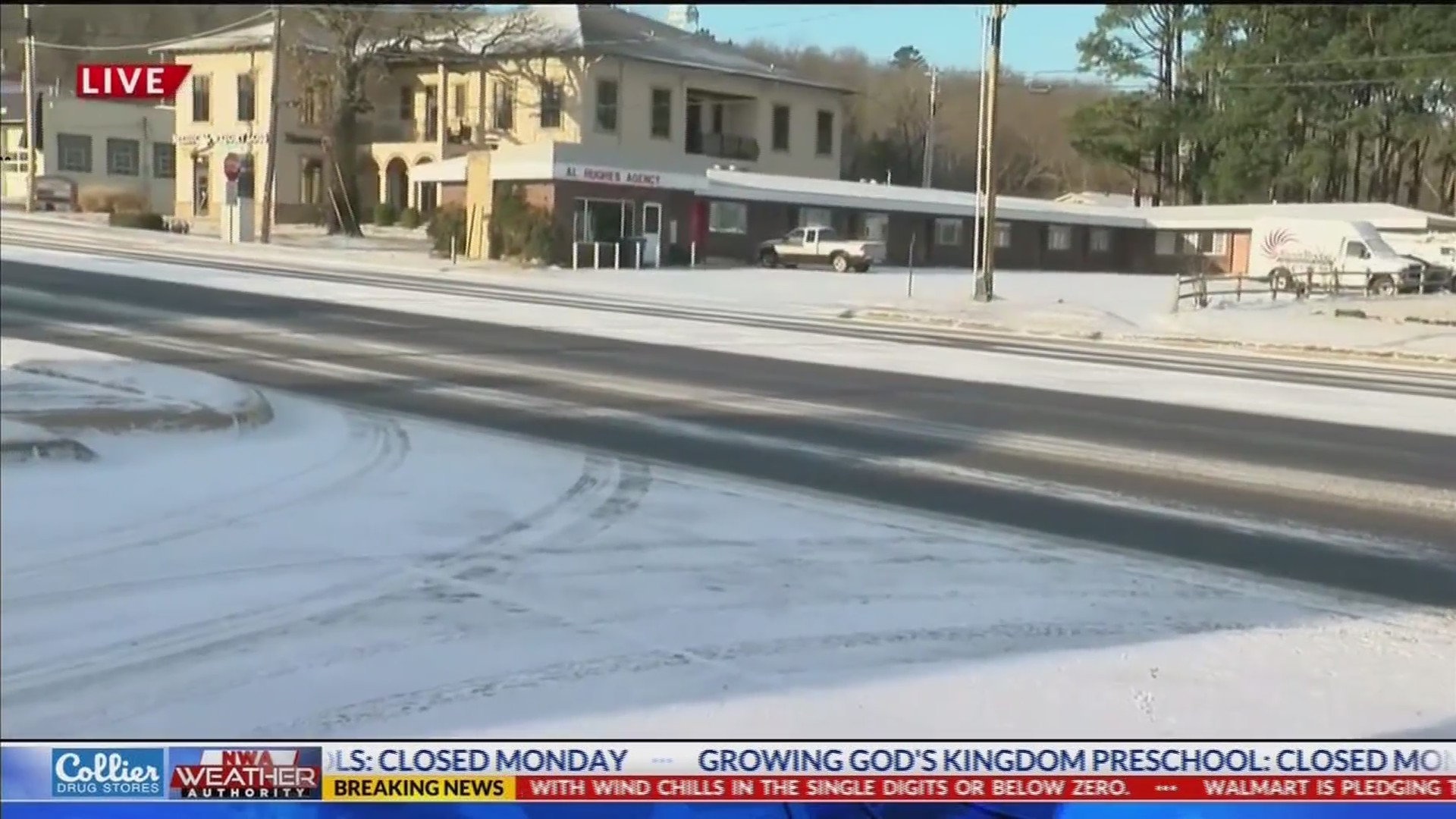 Update on Road Conditions in NWA, Wind Chill Advisory in Effect