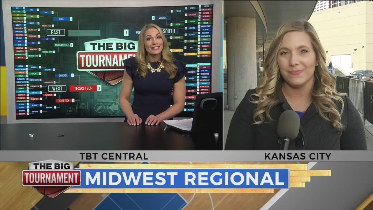 WATCH: 'The Big Tournament Live' previews Sunday's Elite 8 games