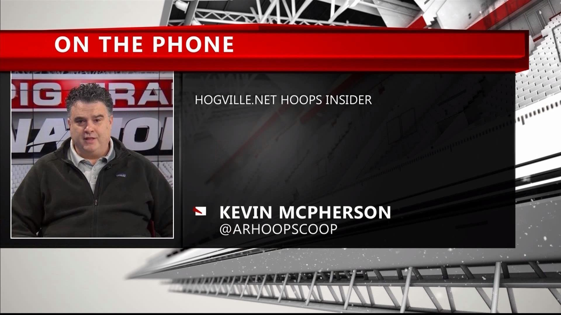 Arkansas Basketball Recruiting Update With Kevin McPherson 4-28-19
