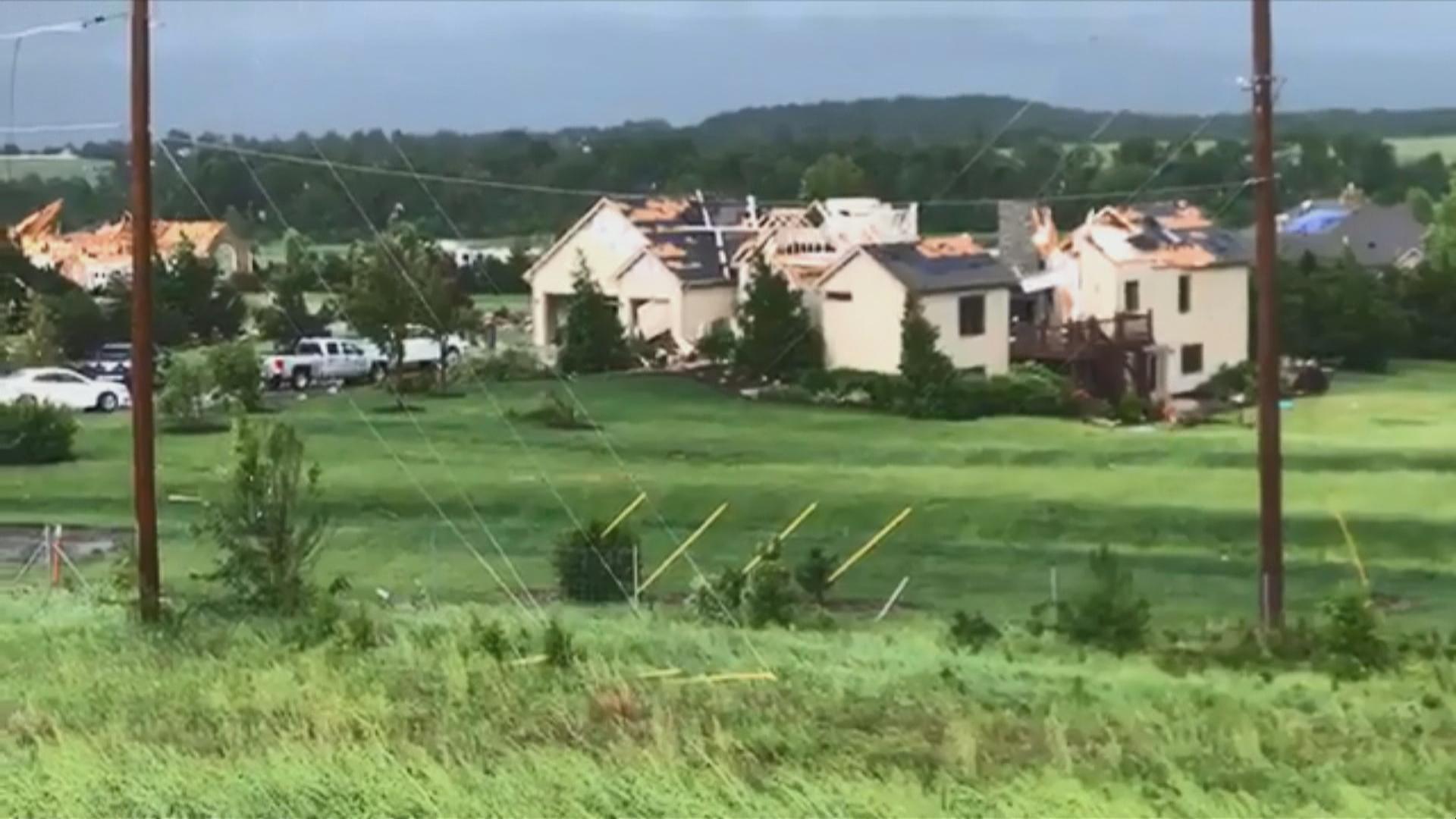 Lawrence Tornado damage-846624078