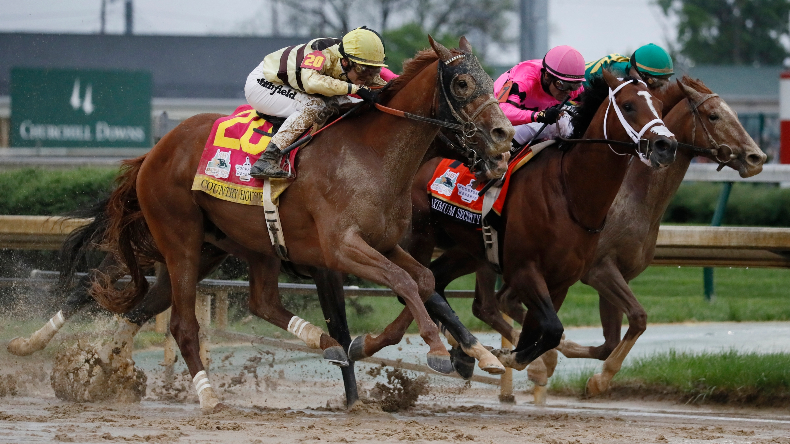 CORRECTION Kentucky Derby Horse Racing_1557014099802