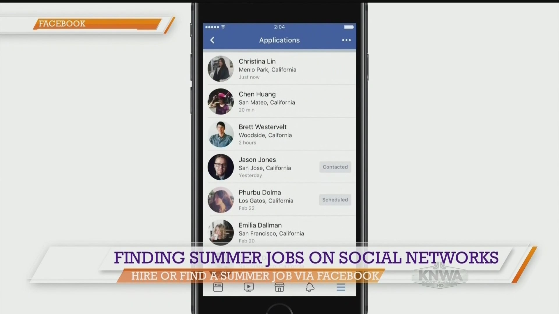 Good Day Nwa Using Social Networks To Find Summer Jobs