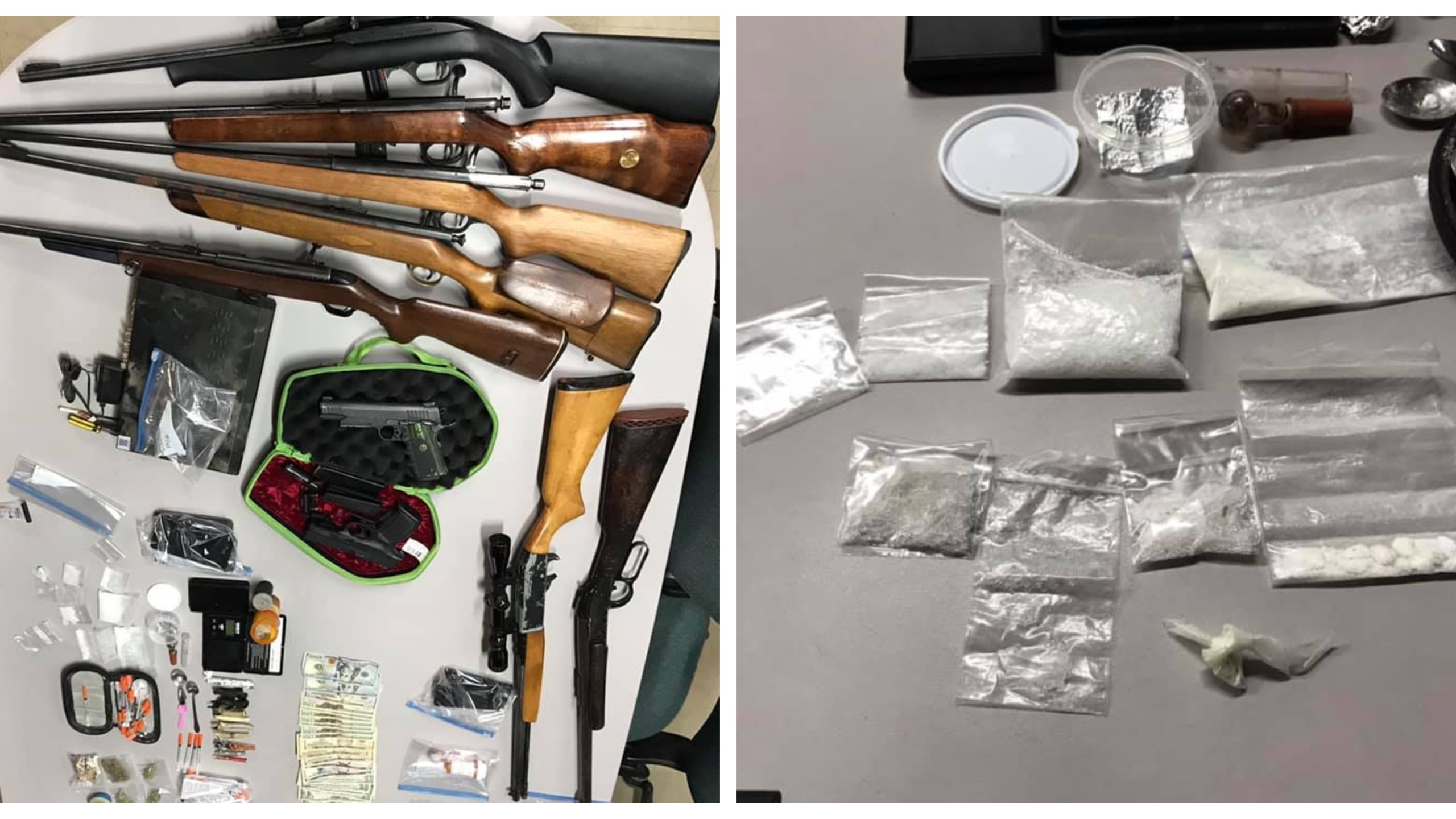 Madison County deputies arrest eight after drug bust