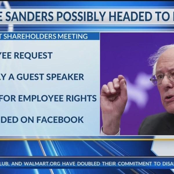 Sanders shareholders hit