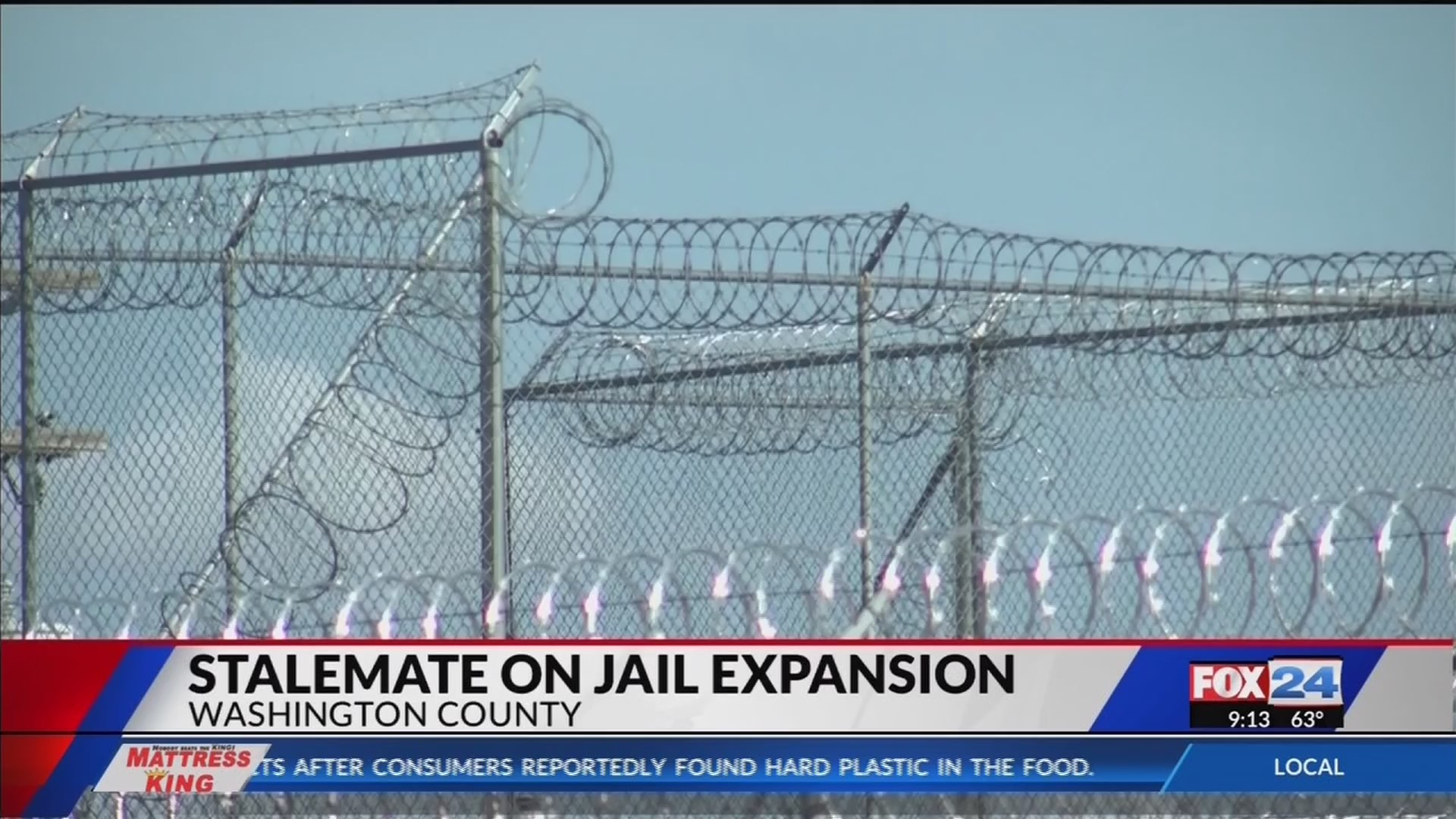 Washington County officials reach stalemate on jail expansion