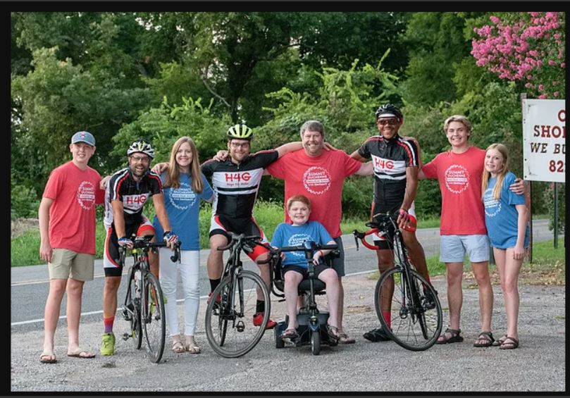 Fort Smith boy with rare disease joining cyclists in part of 1,500 mile trek