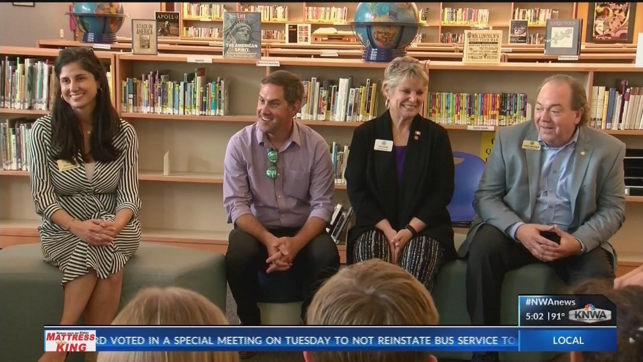 "Fayetteville School District hosts ""bring your legislator to school"""