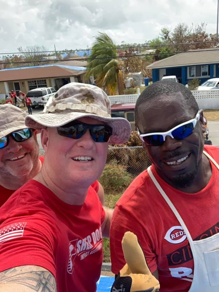Day 3: Sheep Dog Impact Assistance assisting in the Bahamas