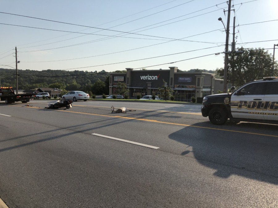 Motorcycle hits deer on College Avenue | KNWA