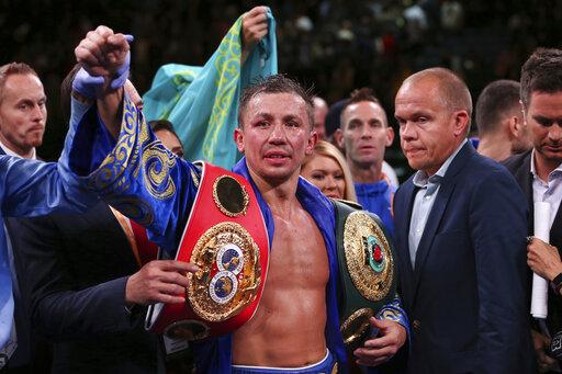 Gennadiy Golovkin, Sergiy Derevyanchenko