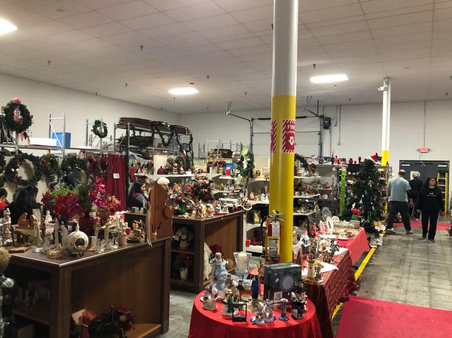 Holiday Toy Land at Samaritan Shop
