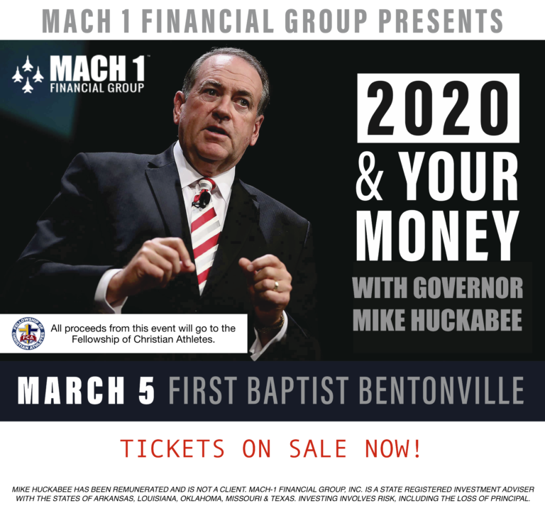 Mike Huckabee to give the keynote address at local financial forum