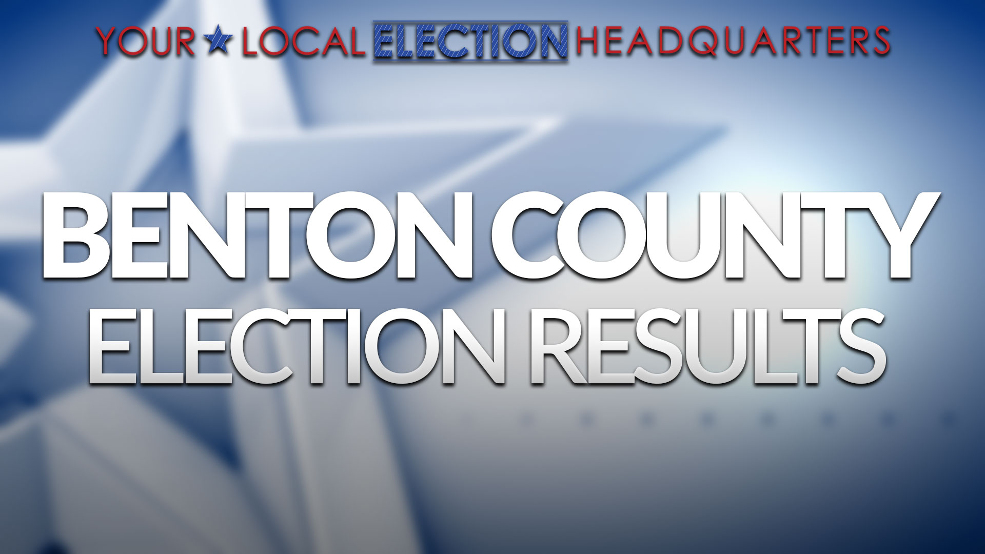 Benton County Election Results