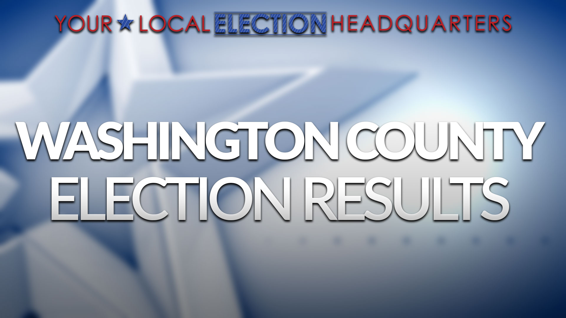 Washington County Election Results