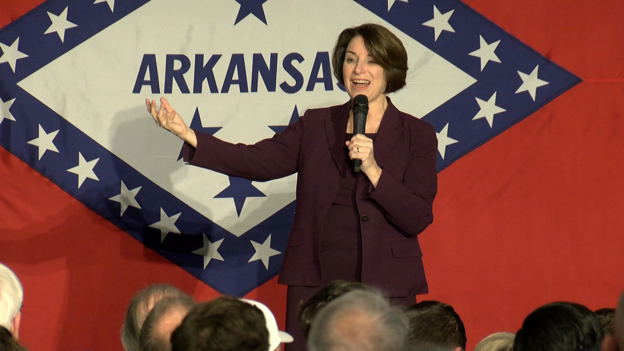 Amy Klobuchar to appear in Fayetteville on Monday