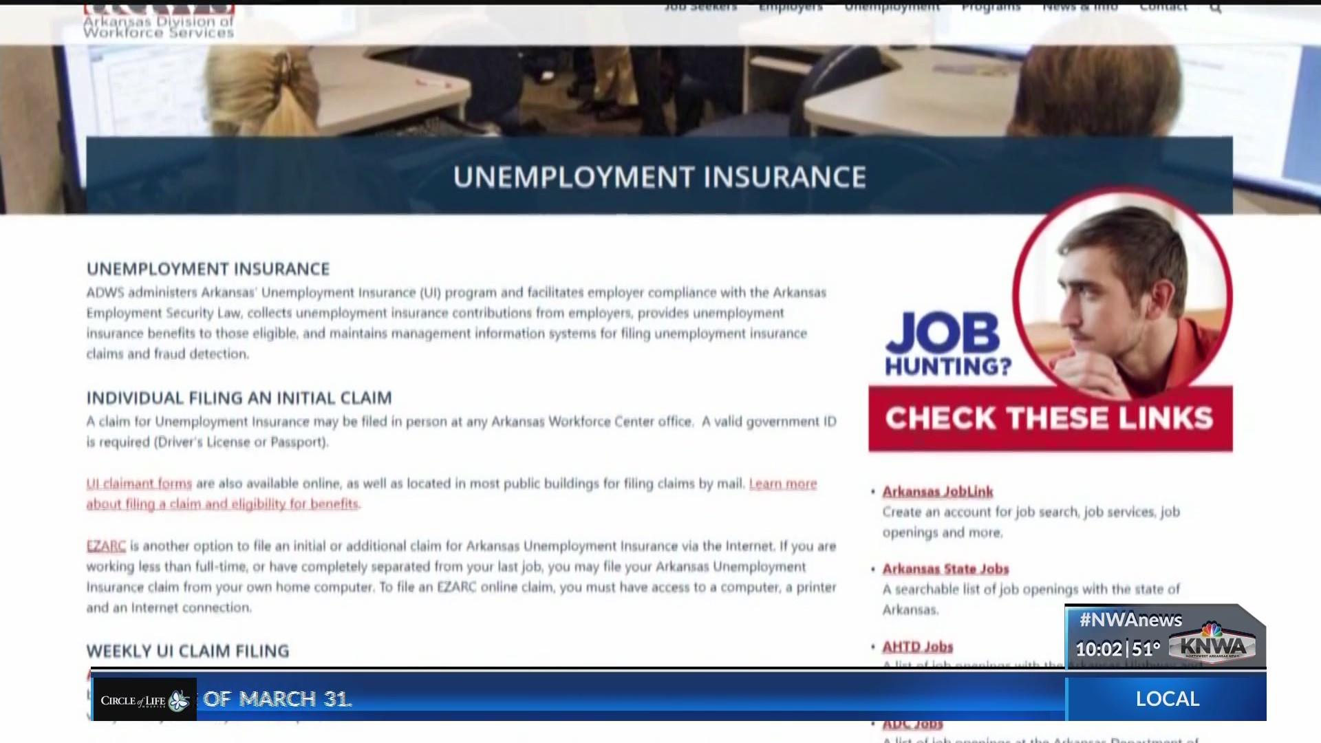 unemployment office fayetteville ar