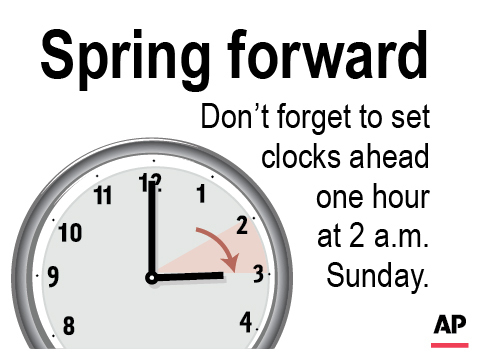 DAYLIGHT SAVING SPRING