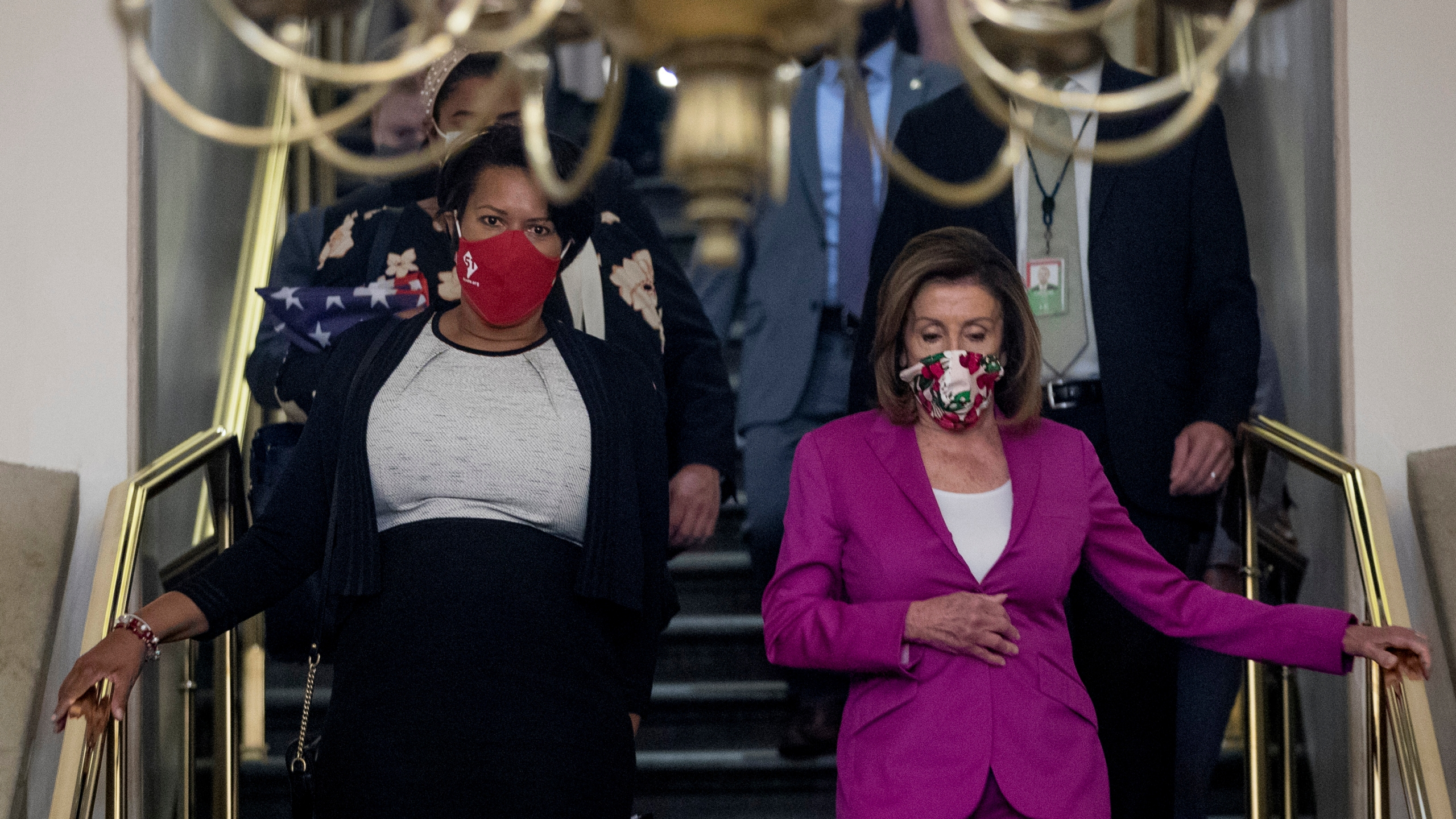 Nancy Pelosi, Muriel Bowser