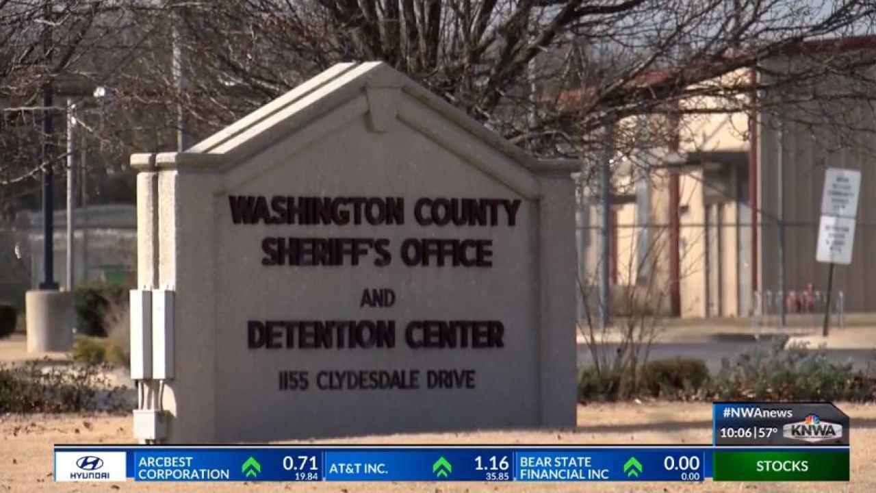 Washington County Arkansas Halloween 2020 Event 15 cases of COVID 19 confirmed at Washington County Detention