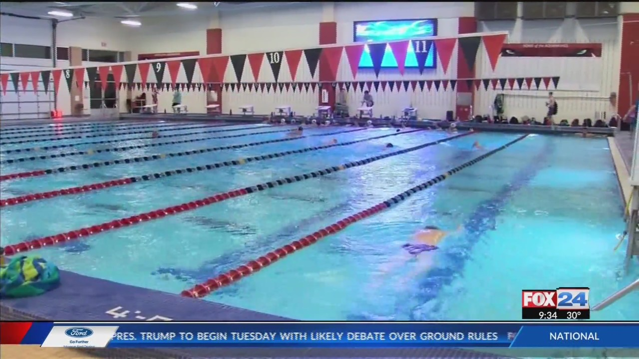 The Jones Center opens fitness center, pool & ice rink to members only