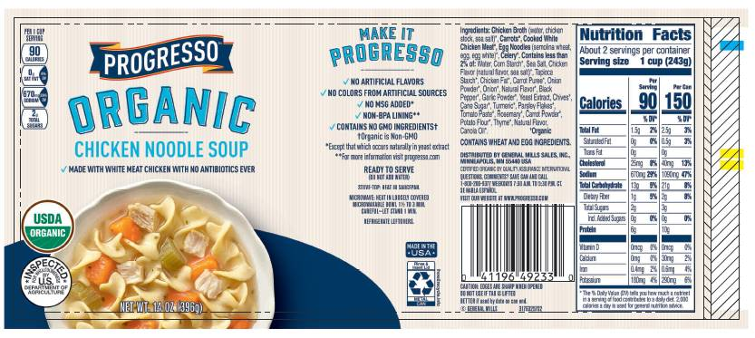 Faribault Foods Inc Recalls Canned Soup Product Due To Misbranding And Undeclared Allergens